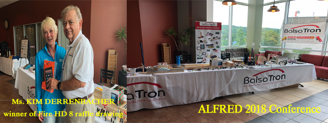 BalsaTron's Booth at NYSTEEA 2018  BalsaTron's Booth at ALFRED State 2018 Conference