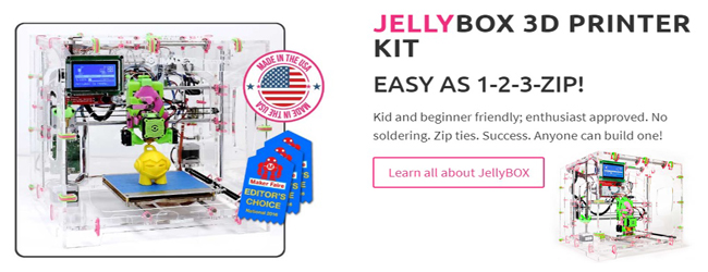 JellyBox 3D Printer