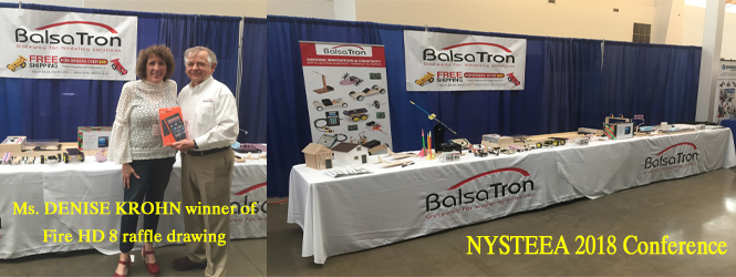 BalsaTron's Booth at NYSTEEA 2018