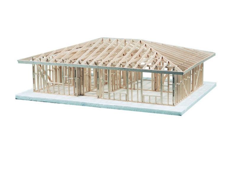 Single Story 2 Bedroom Hip Roof Kit Balsatron Inc