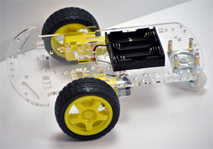 2-Wheel Drive Robotic Platform
