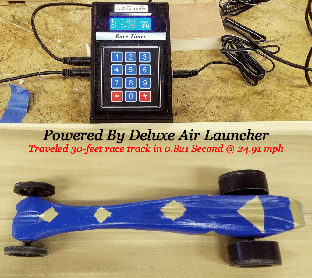 Air Powered Dragster Starter Lab