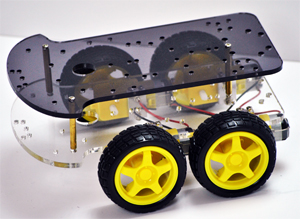 4-Wheel Drive Robotic Platform