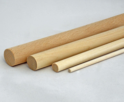 "7/8"" x 24"" Birch Dowel Rod"